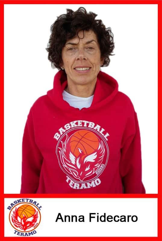 Basketball Teramo, staff, Anna Fidecaro