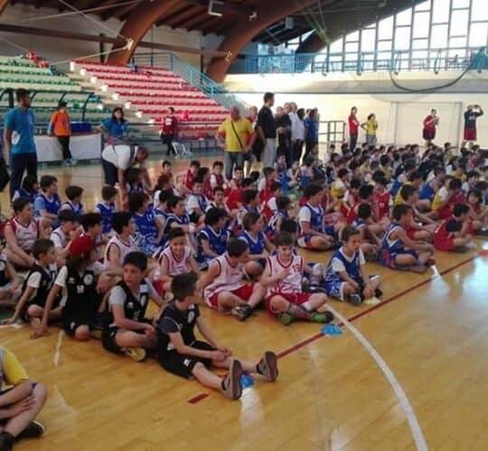 Basketball Teramo, minibasket atri 2016
