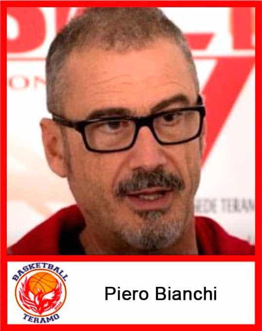 Basketball Teramo, staff, Piero Bianchi