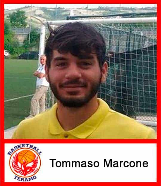 Basketball Teramo, staff, Tommaso Marcone