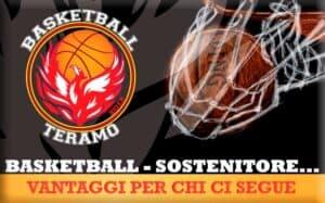 Basketball Teramo convenzioni per i sostenitori
